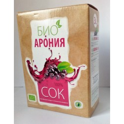 Био арония 100% сок 3 л